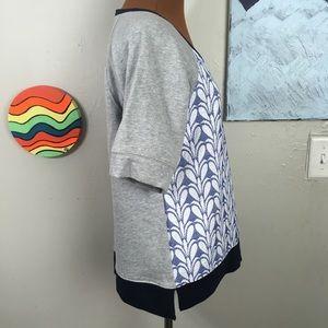 J. Crew Tops - J. CREW textured terry cloth top, short sleeve
